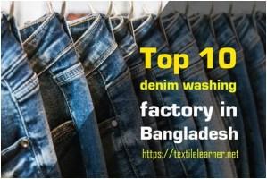 denim washing factory in Bangladesh