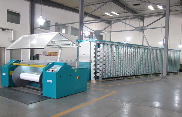 modern warping machine