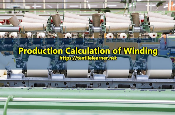 winding production calculation