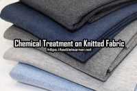 Study on Different Chemical Finished Treatment on Knitted Fabric