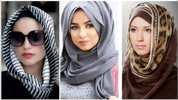 different styles of wearing hijab