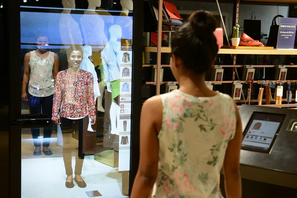 augmented reality in fashion industry