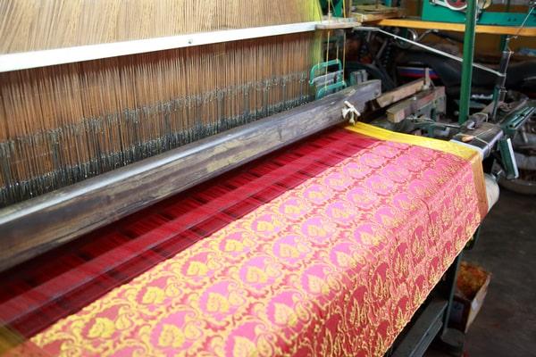 making of mysore silk saree