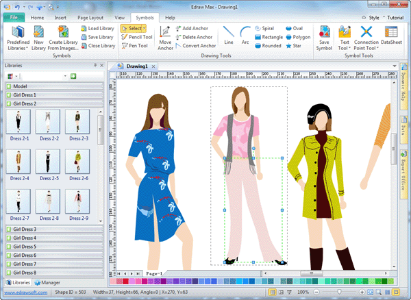 Computer Aided Fashion Designing