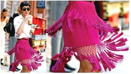 Fabric Fringe used in Clothing