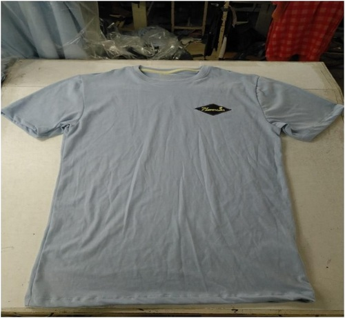 Front View of Short Sleeve T-shirt