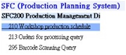 Production planning system