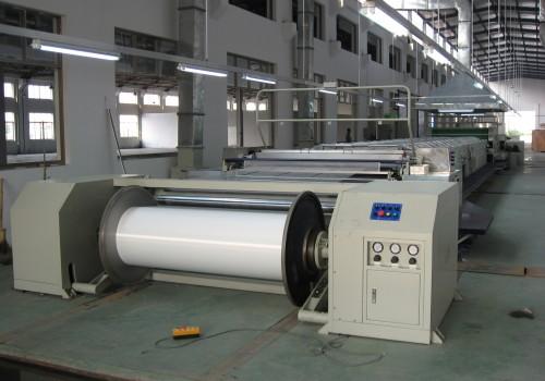 Single end sizing machine