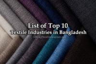 List of Top Ten Textile Industries in Bangladesh