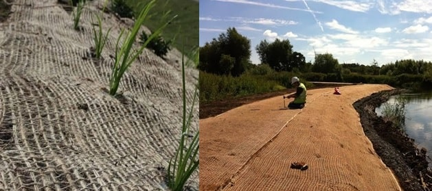 jute geotextile products
