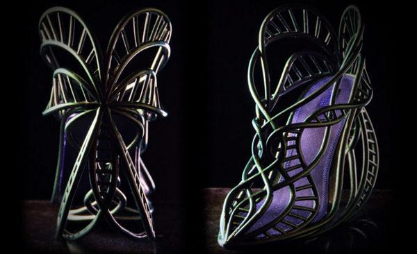 Annie Foo's 3D printed shoes