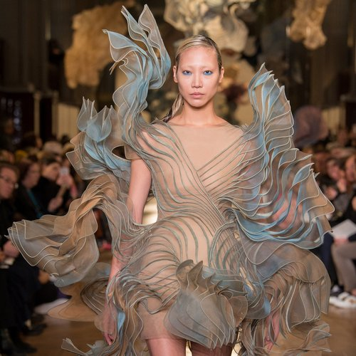 Foliage dress with 3D Printing