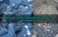 Stone Washing Process of Denim Fabric