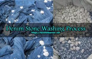 denim stone washing