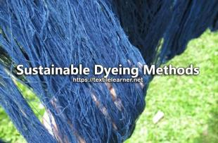 sustainable dyeing