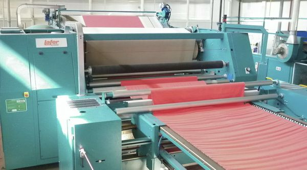 textile compactor machine