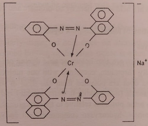 1:2 Metal complex dye