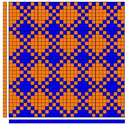 Honeycomb weave