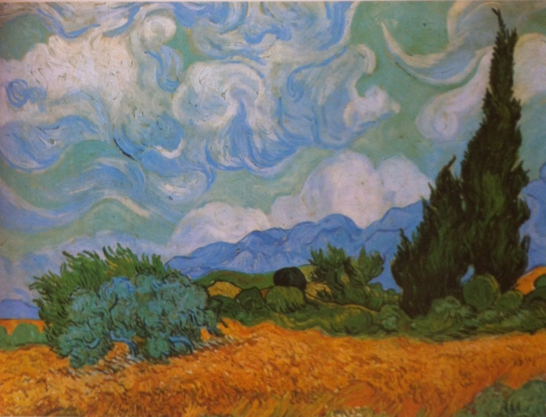 Research Vincent Van Gogh S Mark Making