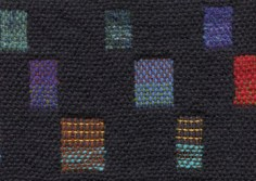Double-weave color sampler