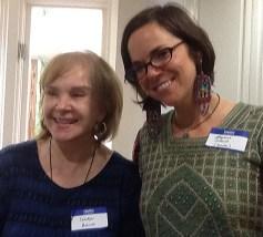 Stephanie Jolluck with Carolyn Branch (on left)