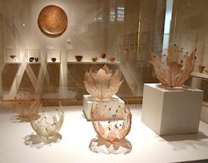 kay sekimachi leafbowls
