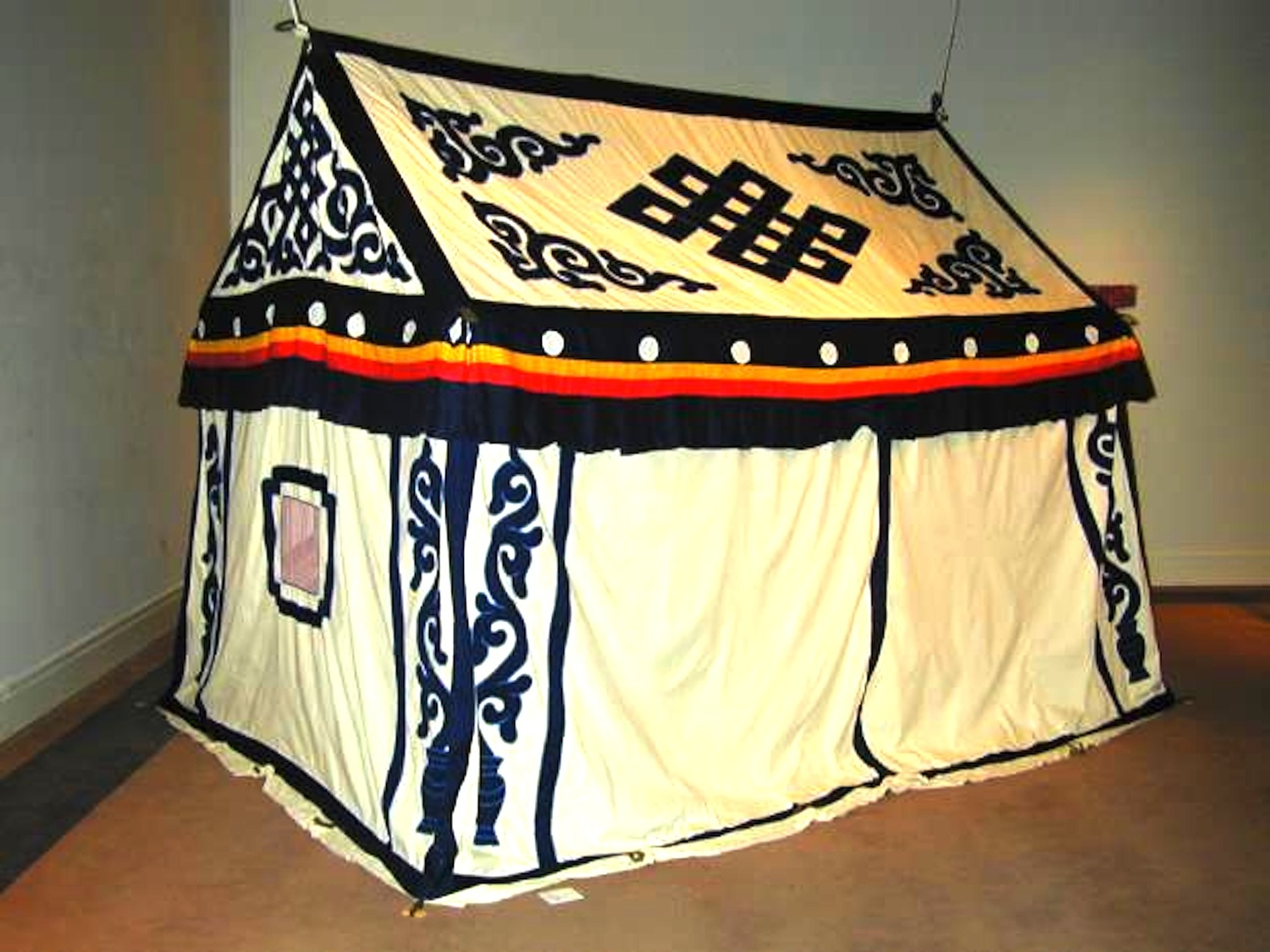 Tibetan.tent & Tracking Traditional Appliqué to Its Source | Textile Society