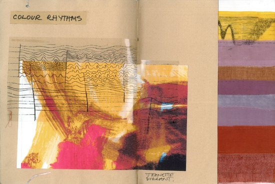 artist book pages