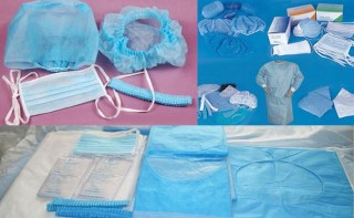 Work wear textile in medical sector