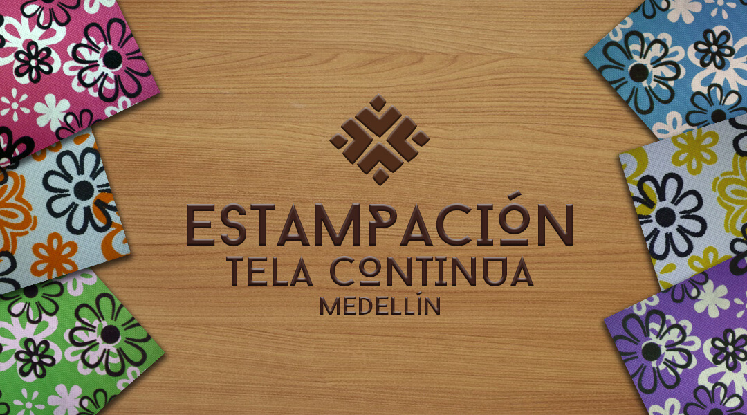 Estampacion Tela Continua Medellin