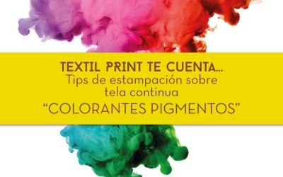 Tips de estampación textil… colorantes pigmentos