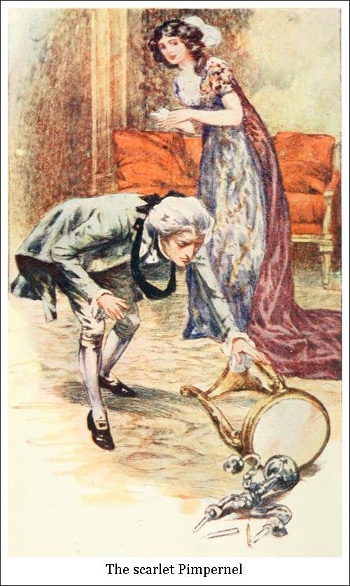 Le mouron rouge, 1792