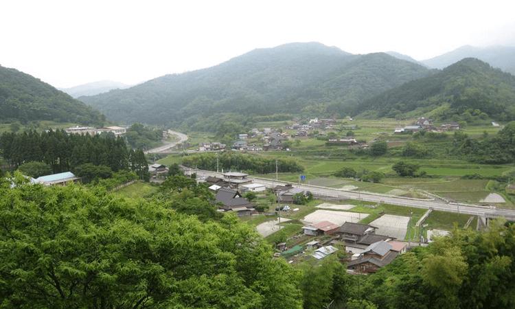 京都明徳高校の学生が民泊プログラムで農村体験!