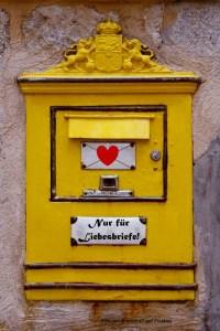 """Briefkasten """"Nur für Liebesbriefe"""""""