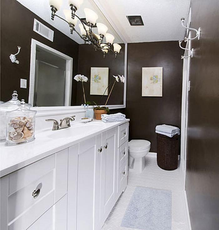 13 больших идей для маленькой ванной комнаты