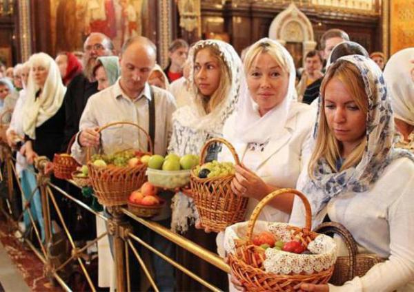 Православные праздники Спаса в августе. Спас в августе