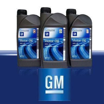 GM масло 5W30. Синтетическое масло General Motors: характеристики и отзывы