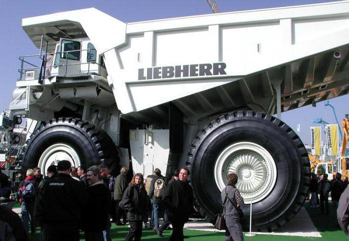 Liebherr T282B: характеристики и фото