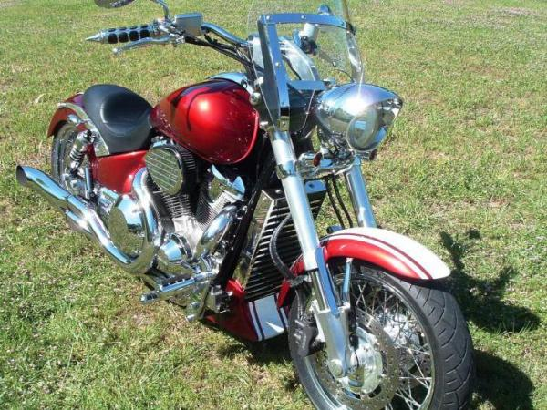Мотоцикл Honda VTX 1800: описание, технические характеристики