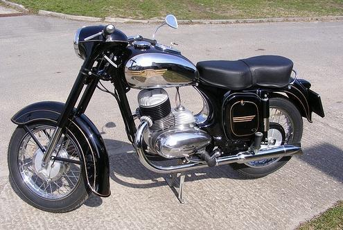 Мотоцикл Ява-250 – чешское чудо