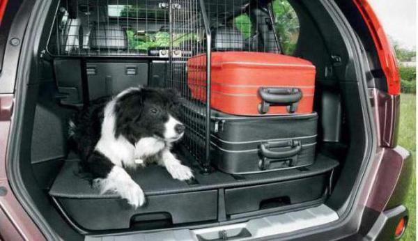 Объем багажника в