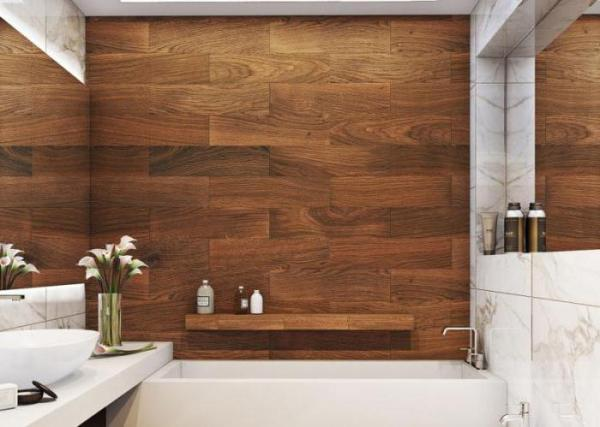 Плитка под дерево для ванной: фото, дизайн - Новости ...