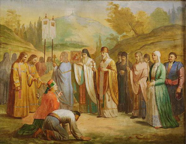 Почаевская икона: молитва Божьей Матери об исцелении