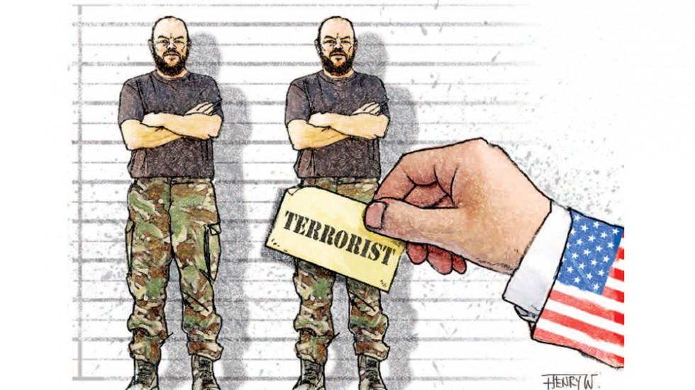 американский двойной стандарт о терроистах