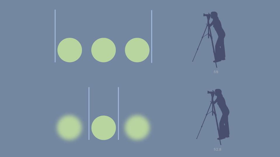 От чего зависит глубина резкости на фотографиях?