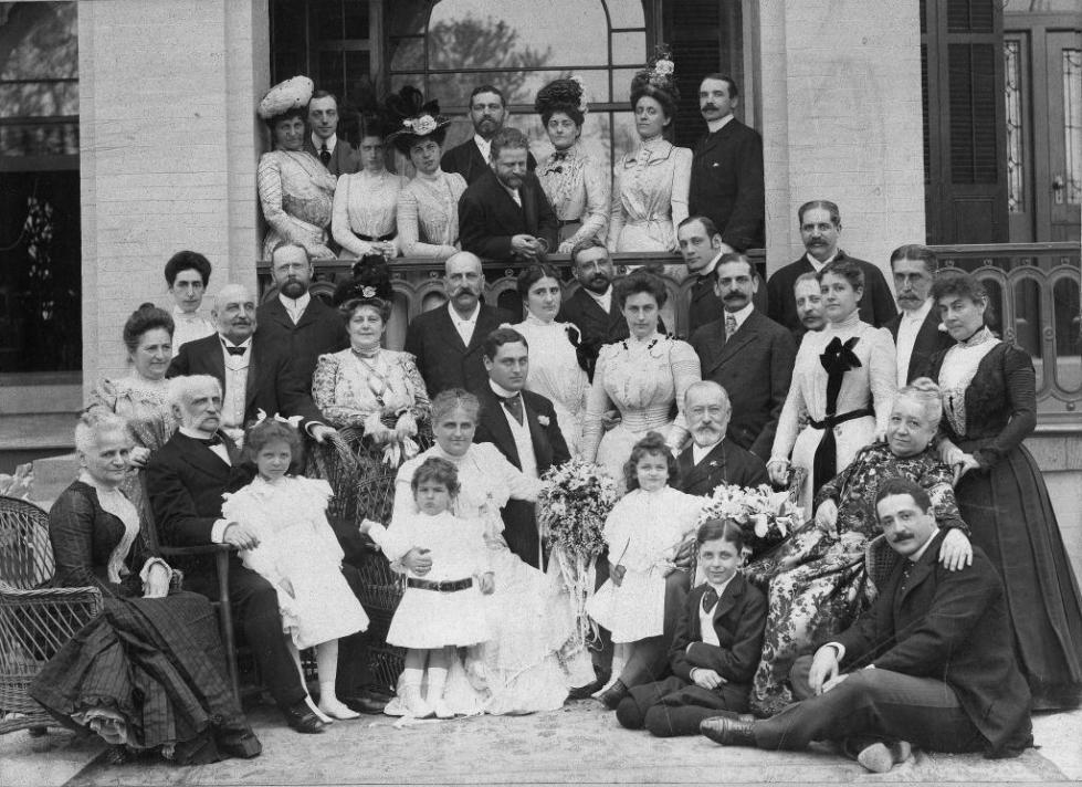 Большая еврейская семья