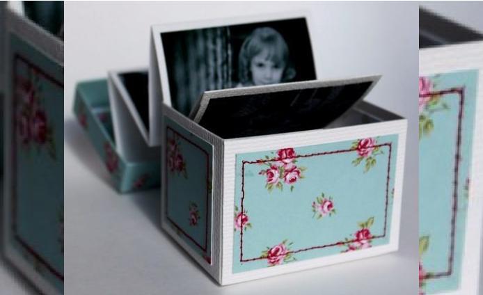 мастер класс коробочка с фотографиями