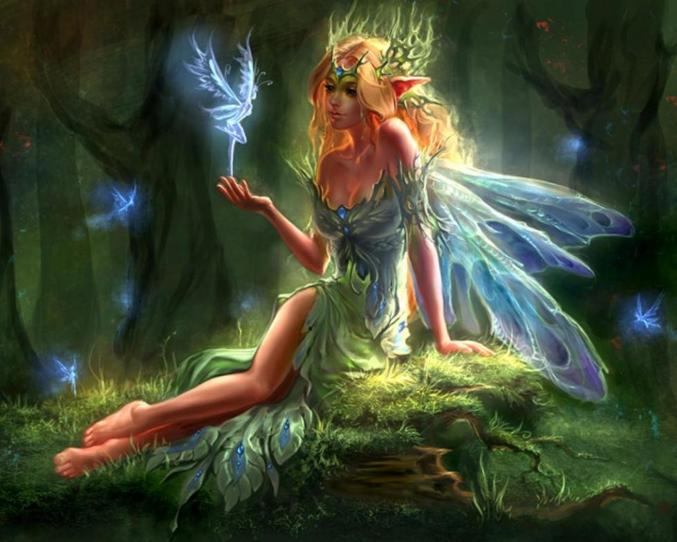 Эльфы и фея