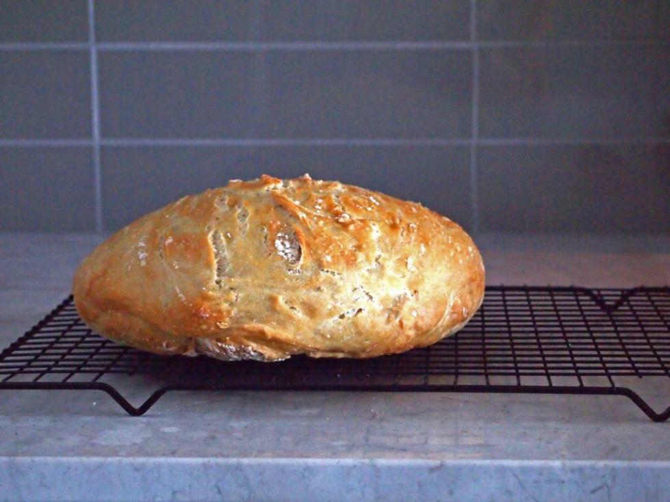 Паклеванный хлеб в домашних условиях