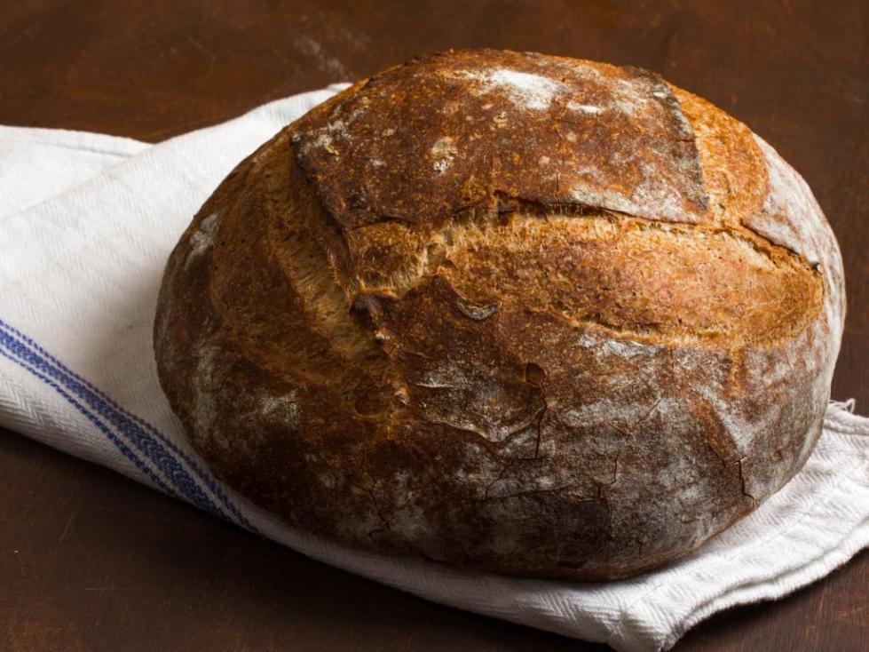ржаной паклеванный хлеб